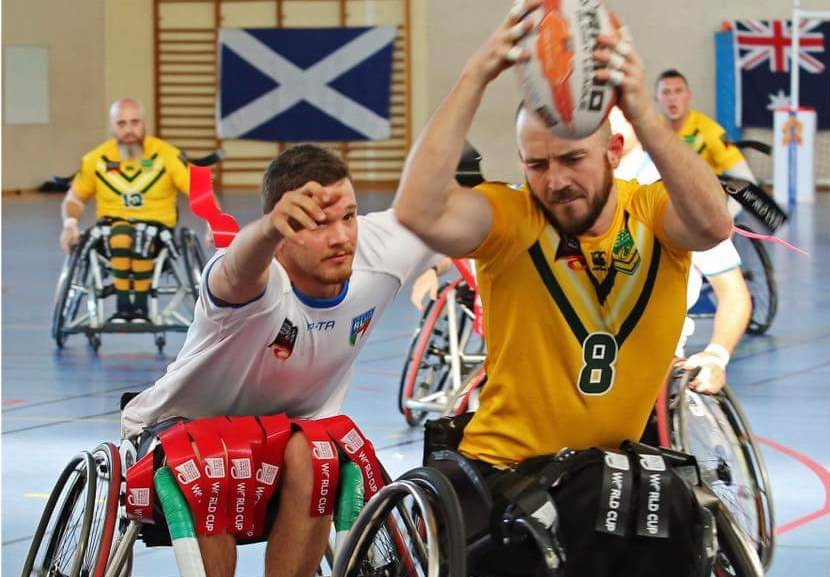 Teams named for 2021 Wheelchair Rugby League World Cup