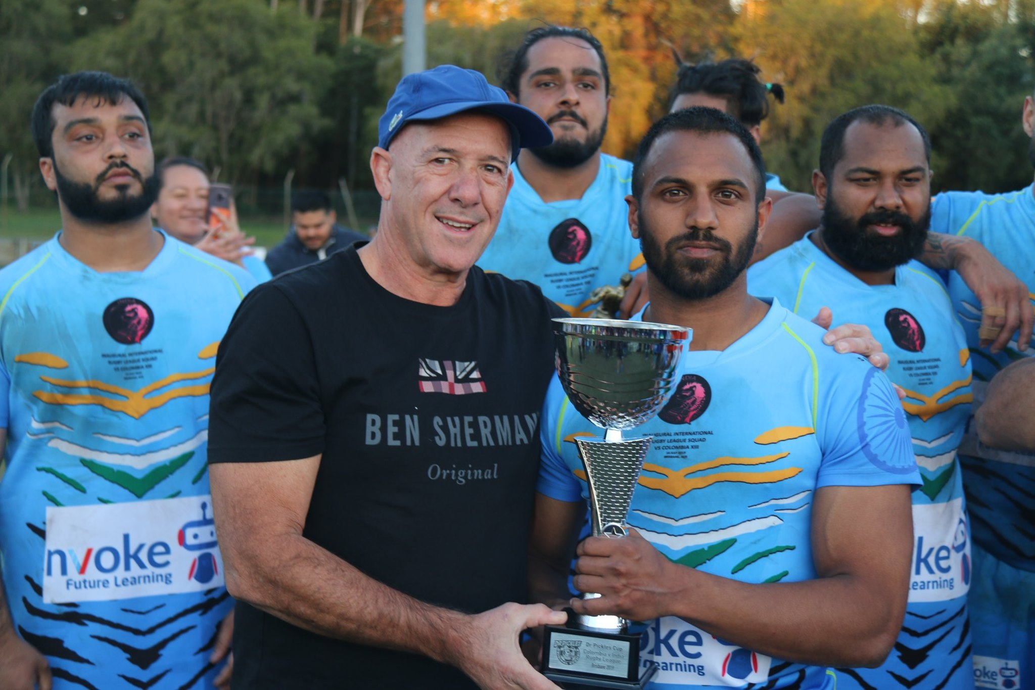 India Jungle Cats win in debut International
