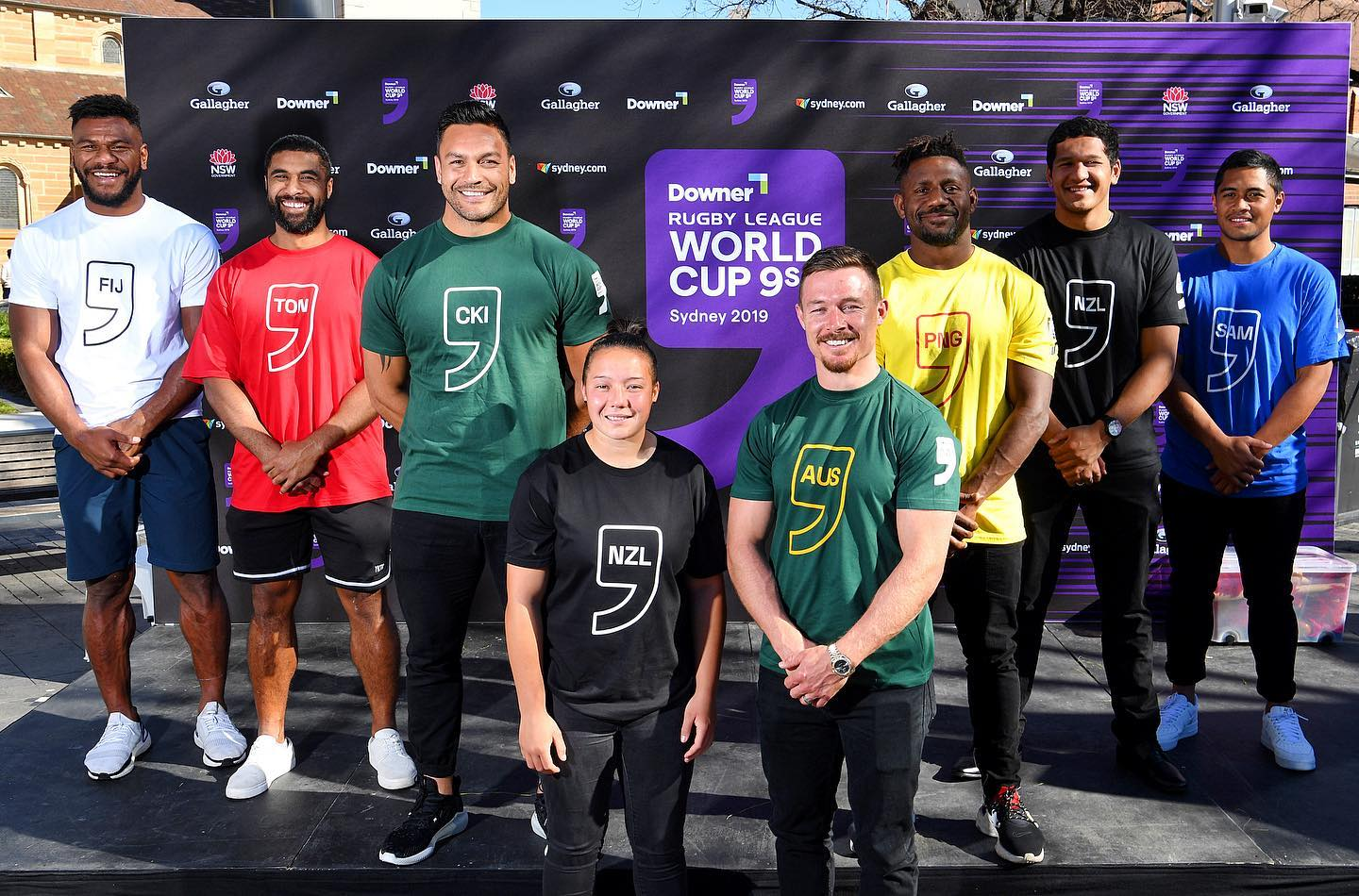Pools confirmed for 2019 Nines World Cup