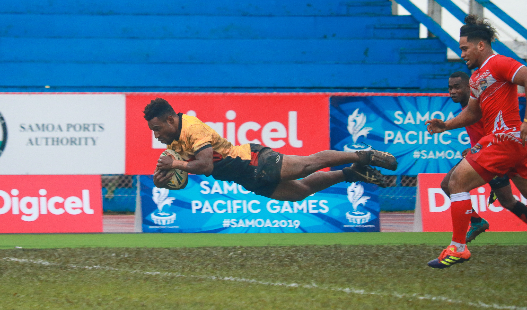 PNG and Samoa top ladder after Day One of Men's Nines