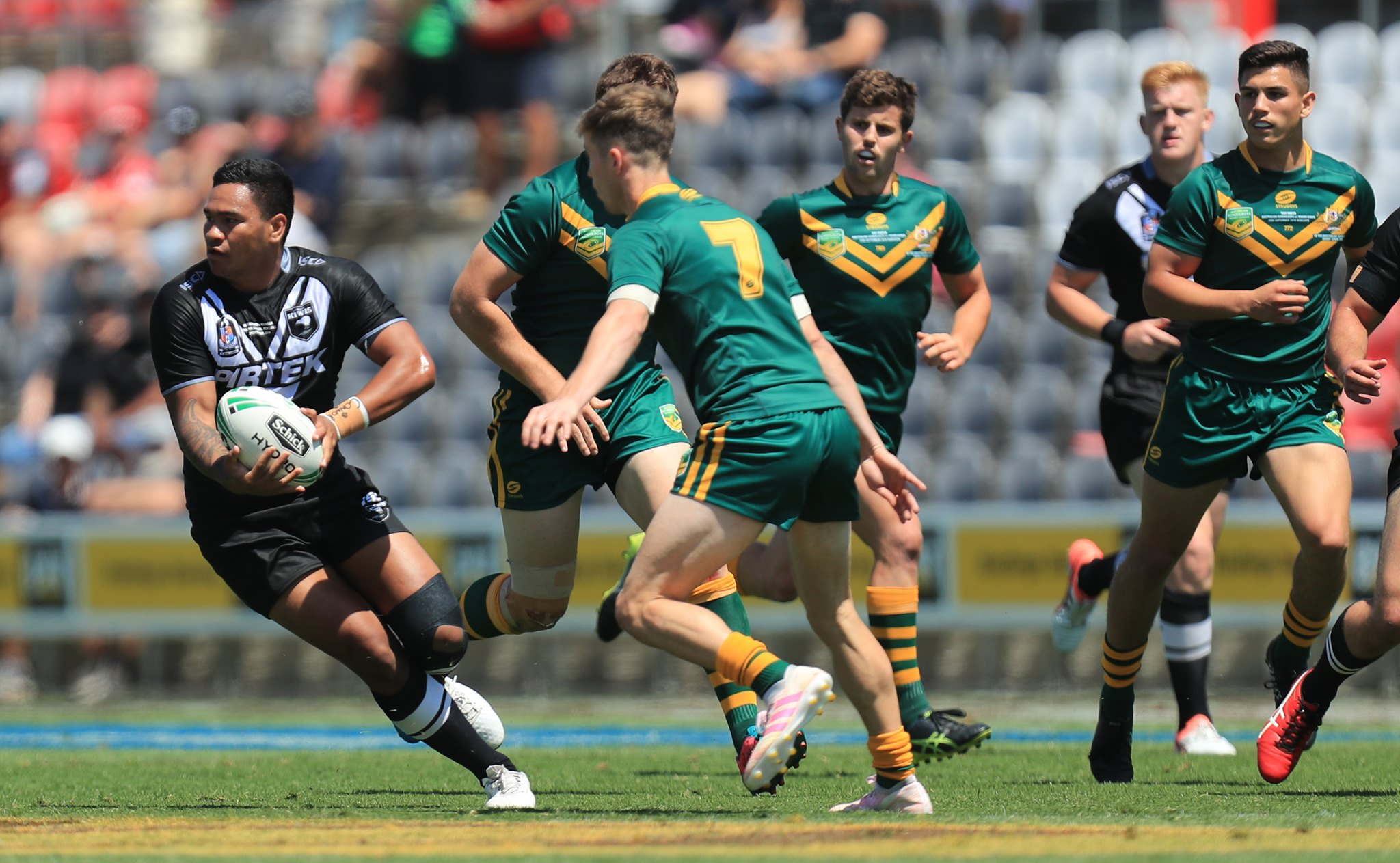 Junior Kangaroos too strong for Junior Kiwis in Redcliffe