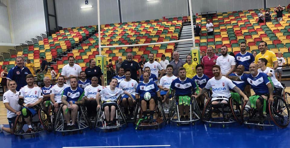 England Wheelchair start tour with a win