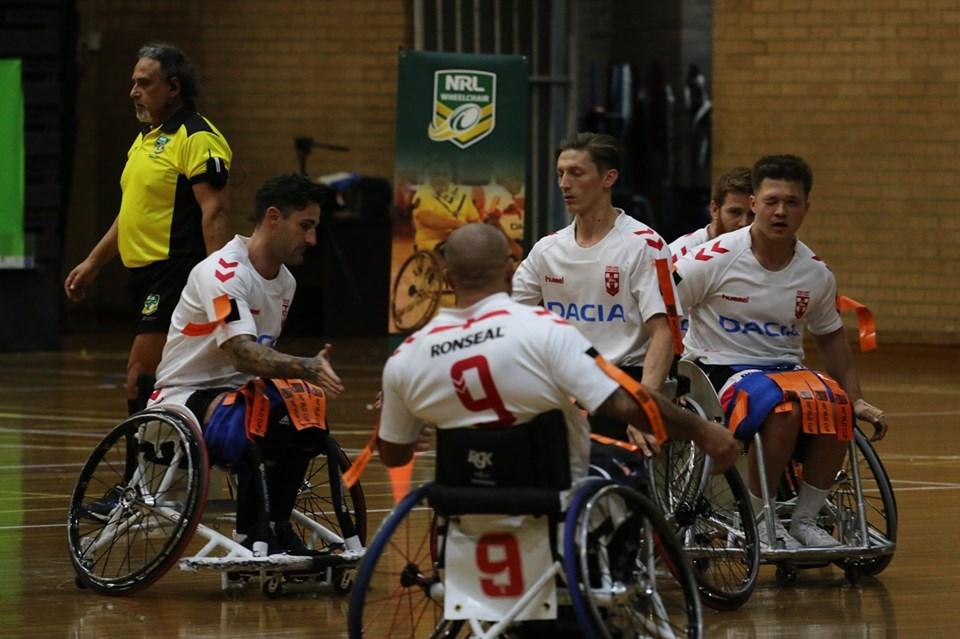 England Wheelchair win Ashes series against Australia