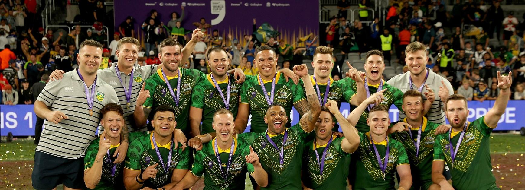 Australia wins Men's title at Downer World Cup Nines
