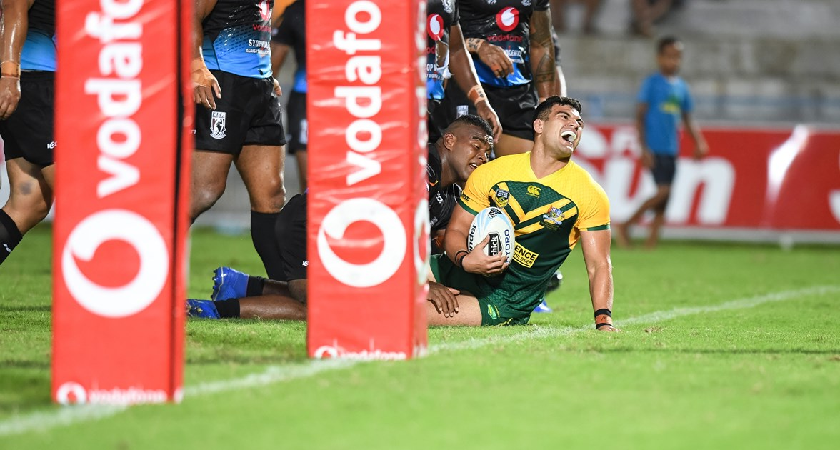 PM's XIII in 11-try romp over Fiji counterparts