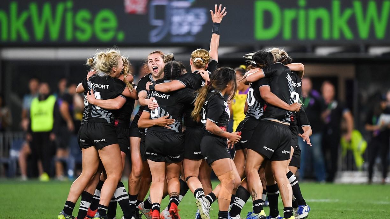 Kiwi Ferns win inaugural Downer World Cup Nines Women's title