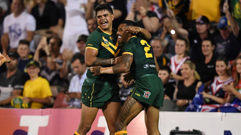 Cook sizzles as new-look Kangaroos romp to big win over Kiwis