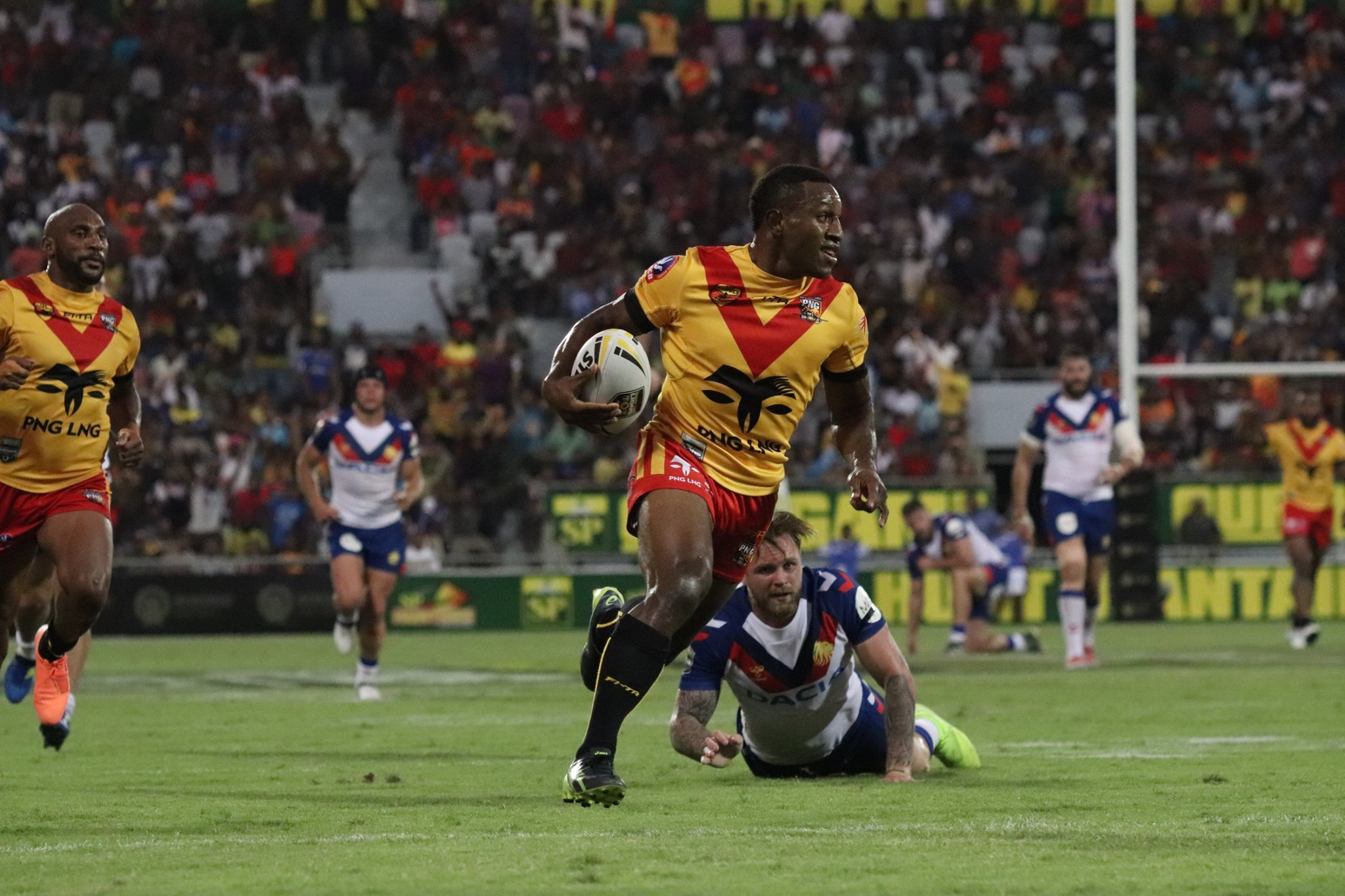 Kumuls put Lions to the sword in Port Moresby