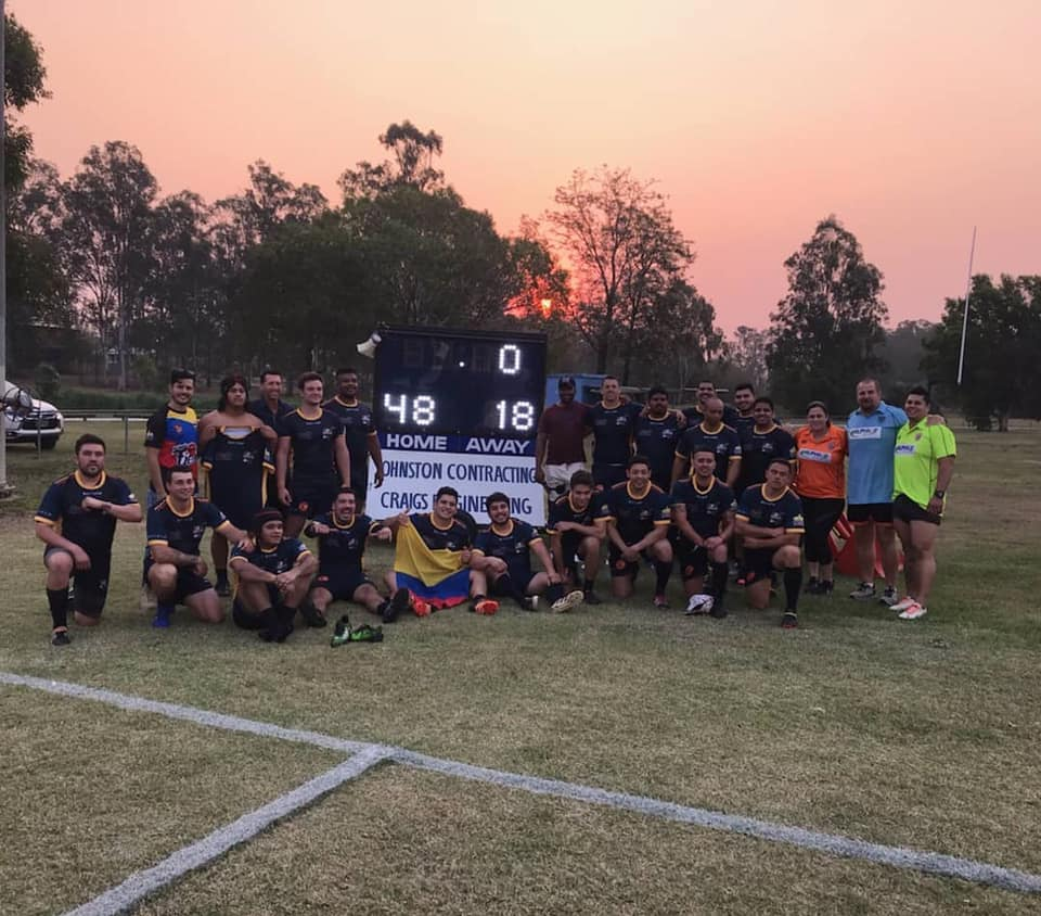 Colombia Rugby League breaks drought with emphatic win