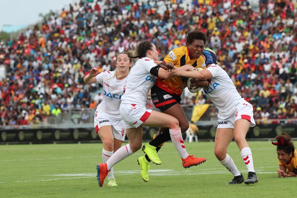 PNG Orchids make history against England