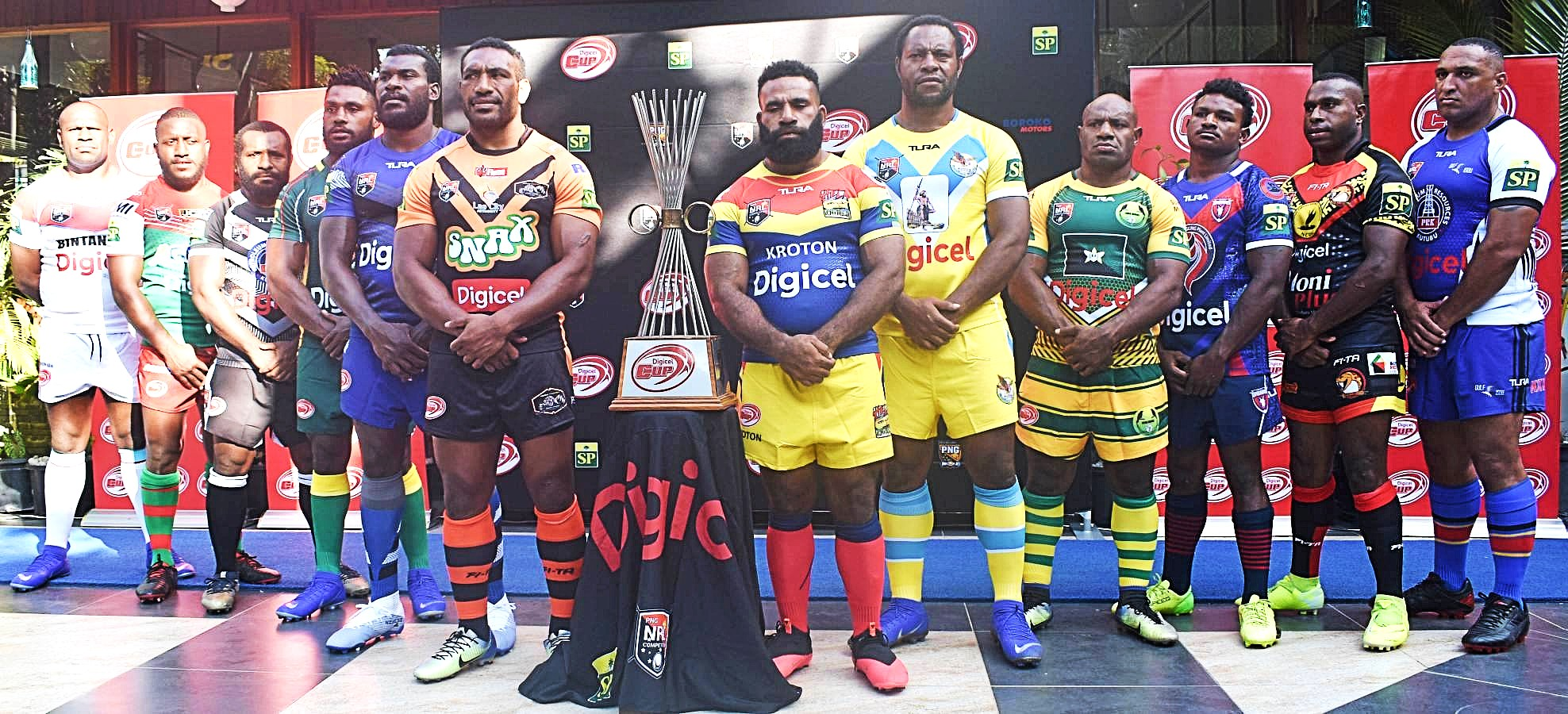 Squad lists for 2020 PNG Digicel Cup competition