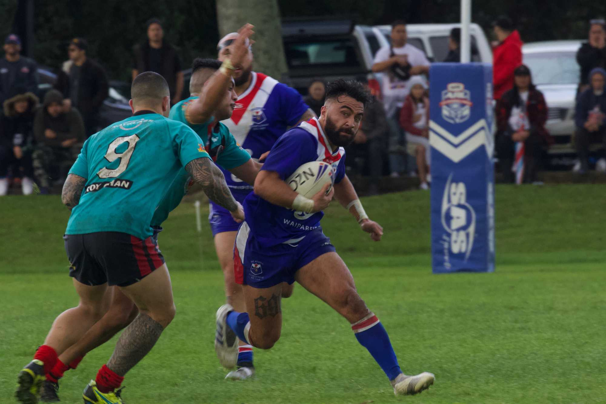 Dominant first half hands Leopards victory in Fox Memorial Premiership