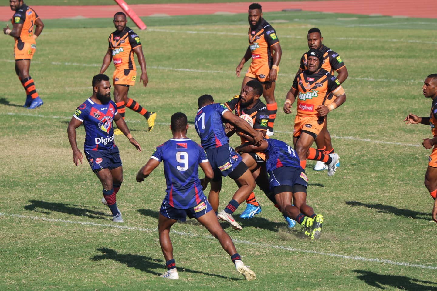 Tigers and Gurias record big wins in Round Two of Digicel Cup
