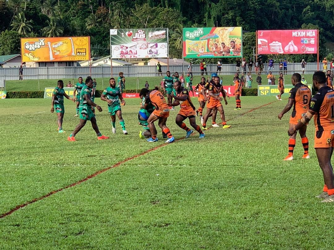 Lae Tigers continue undefeated start to PNG Digicel Cup season