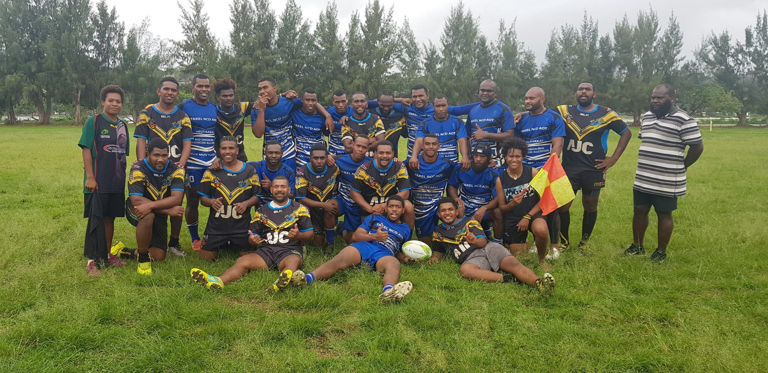 Bulldogs, Warriors & Police Forces secure wins in Port Vila Championship