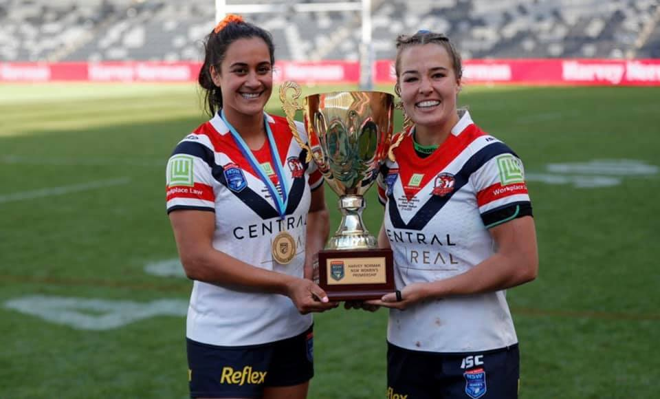 Central Coast Roosters win 2020 NSW Women's Premiership