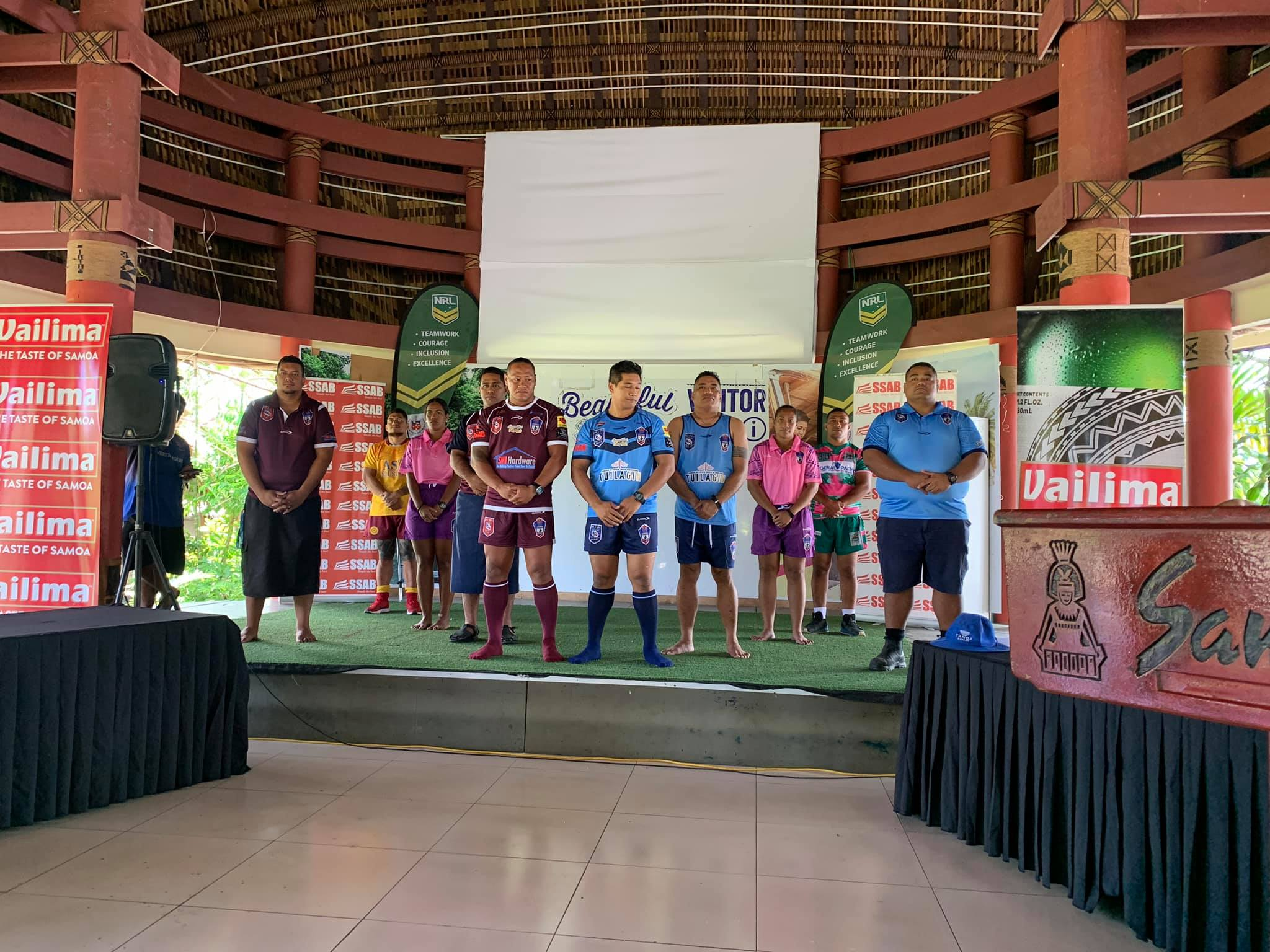 Teams named for Game One of Samoan Island of Origin series