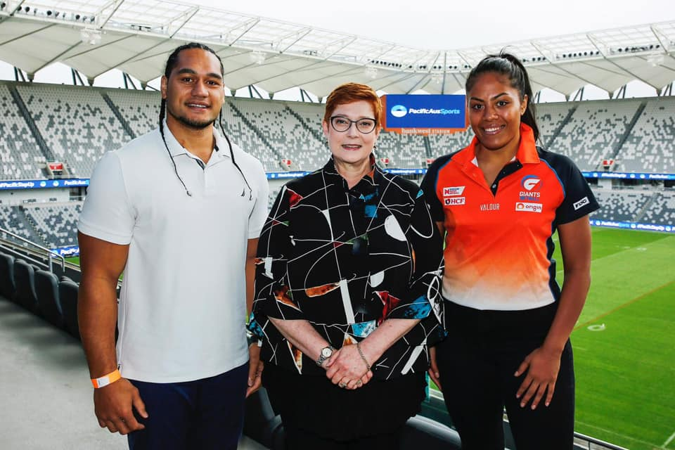 PacificAus Sports Regional Hub opened in Samoa