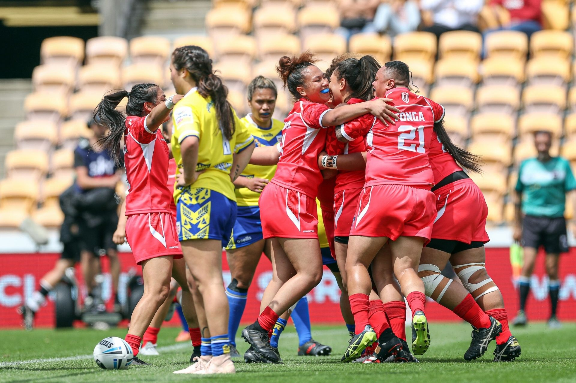 Tonga XIII too strong for Niue XIII at Mt Smart