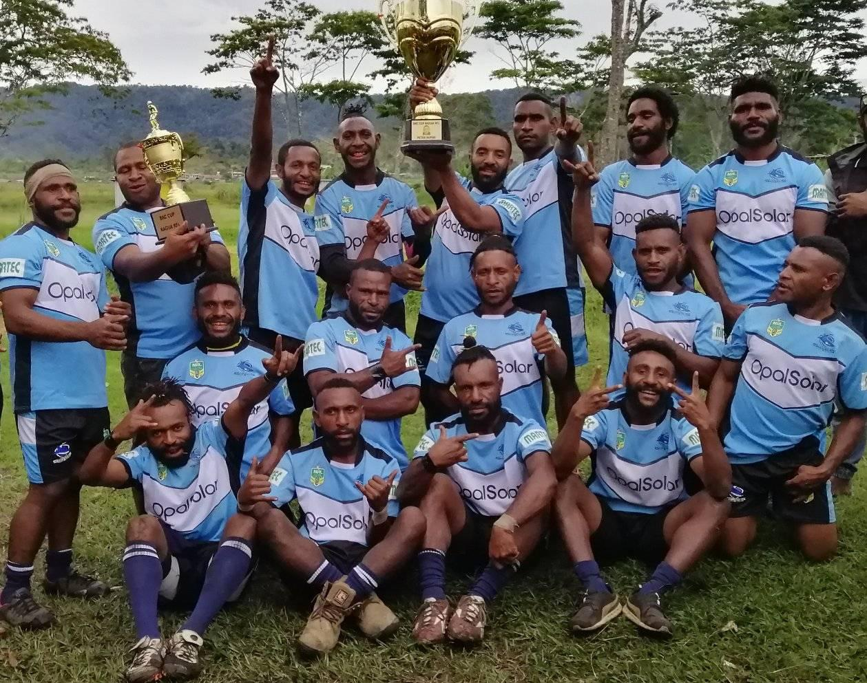 SBB Brothers win 2020 Kagua Rugby League title