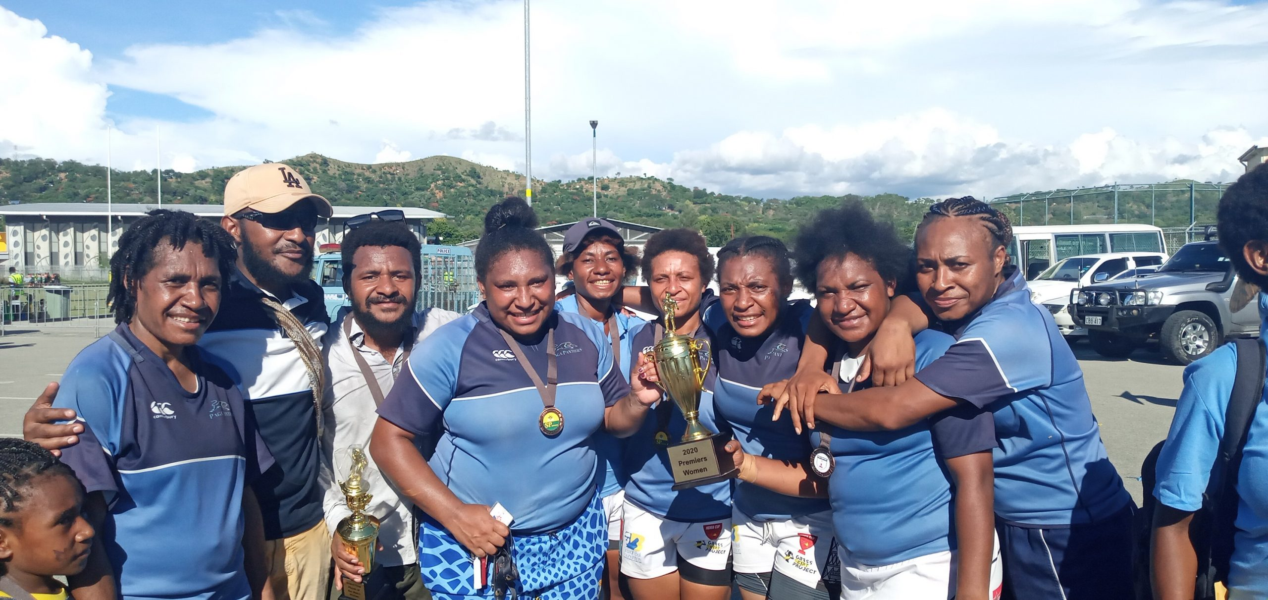 Paga Panthers win 2020 Port Moresby Women's Final