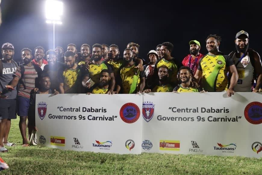 Koiari Gogeas win inaugural Central District Governor's Nines Cup