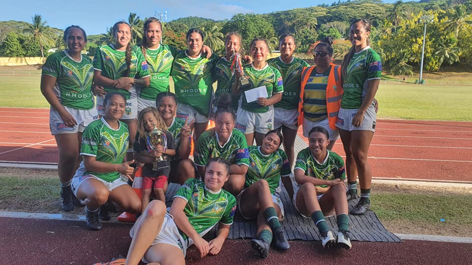 Rarotonga win 2021 Cook Islands Women's Nines title