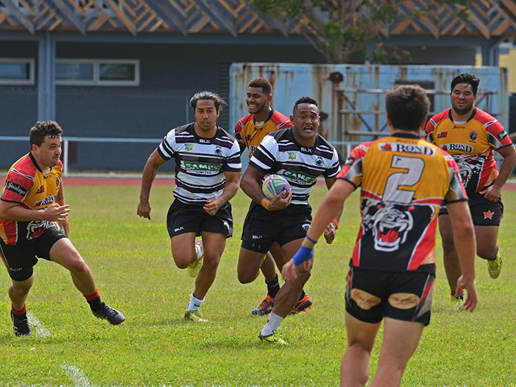 Tupapa Panthers put in a dominant performance at Raemaru Park