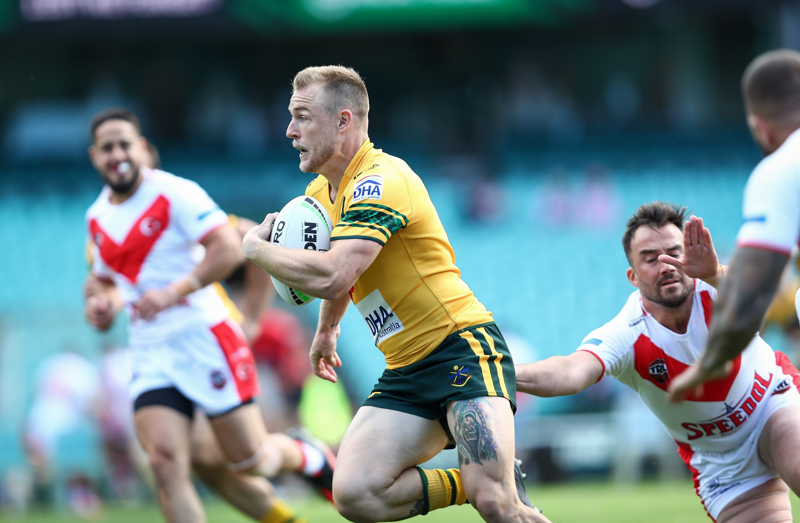 Australian Defence Forces defeat Turkey XIII at SCG