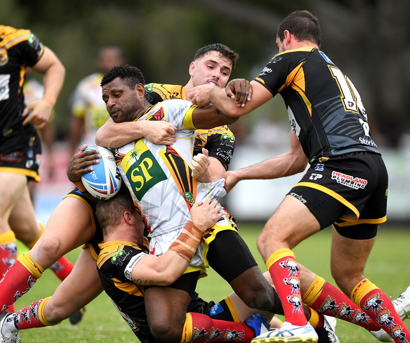 PNG Hunters make it 3 wins in-a-row, Wynnum and Norths remain undefeated