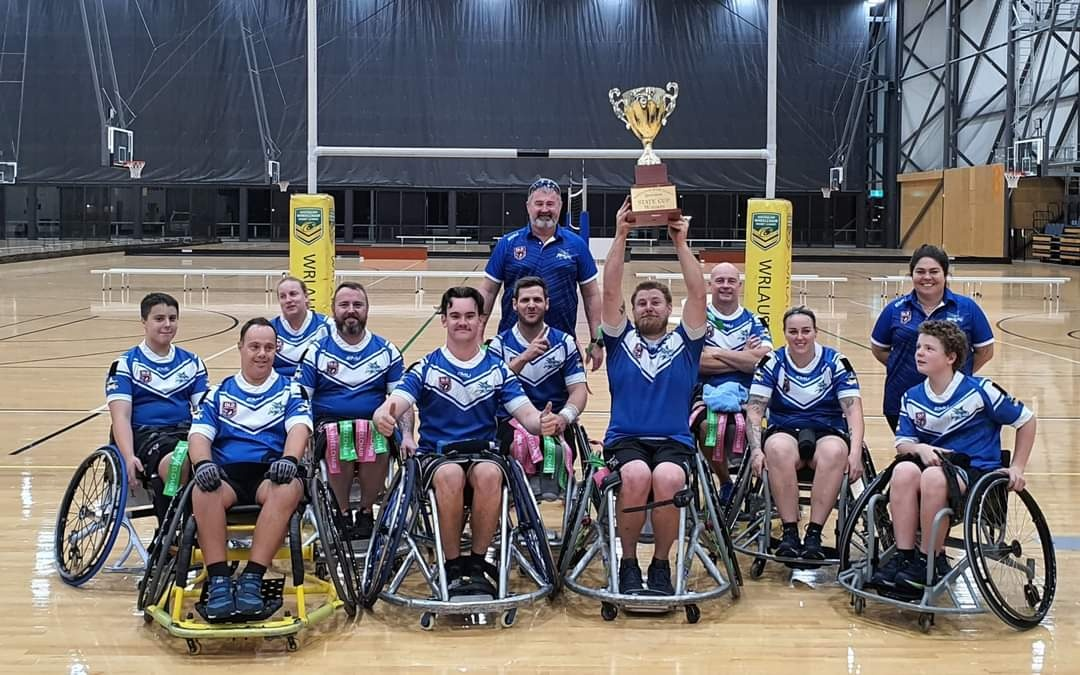 North Queensland Marlins win inaugural Queensland Wheelchair Rugby League State Cup