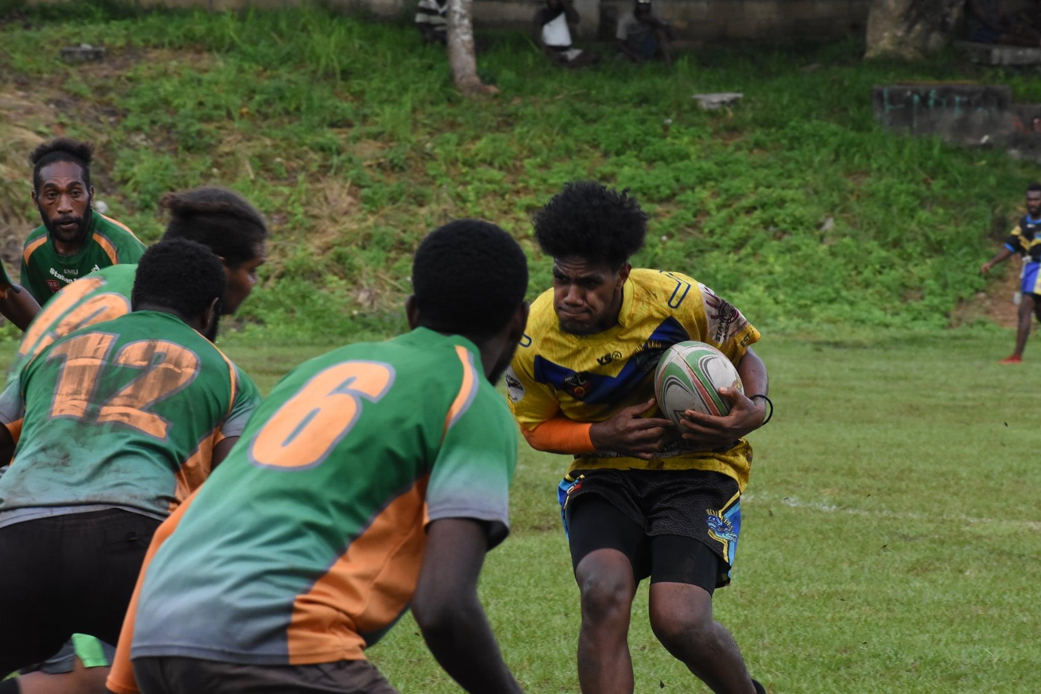 USP stamp authority on Port Vila Men's Championship