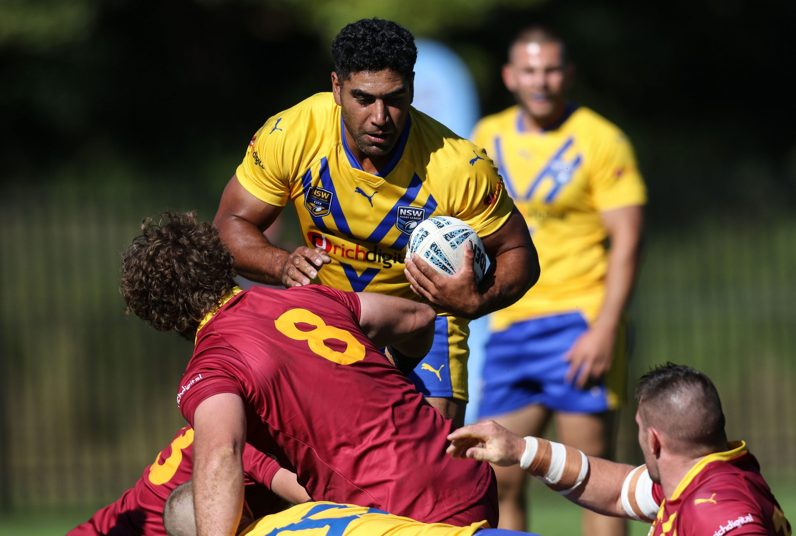 NSW City Men's team too strong for Country in Figtree