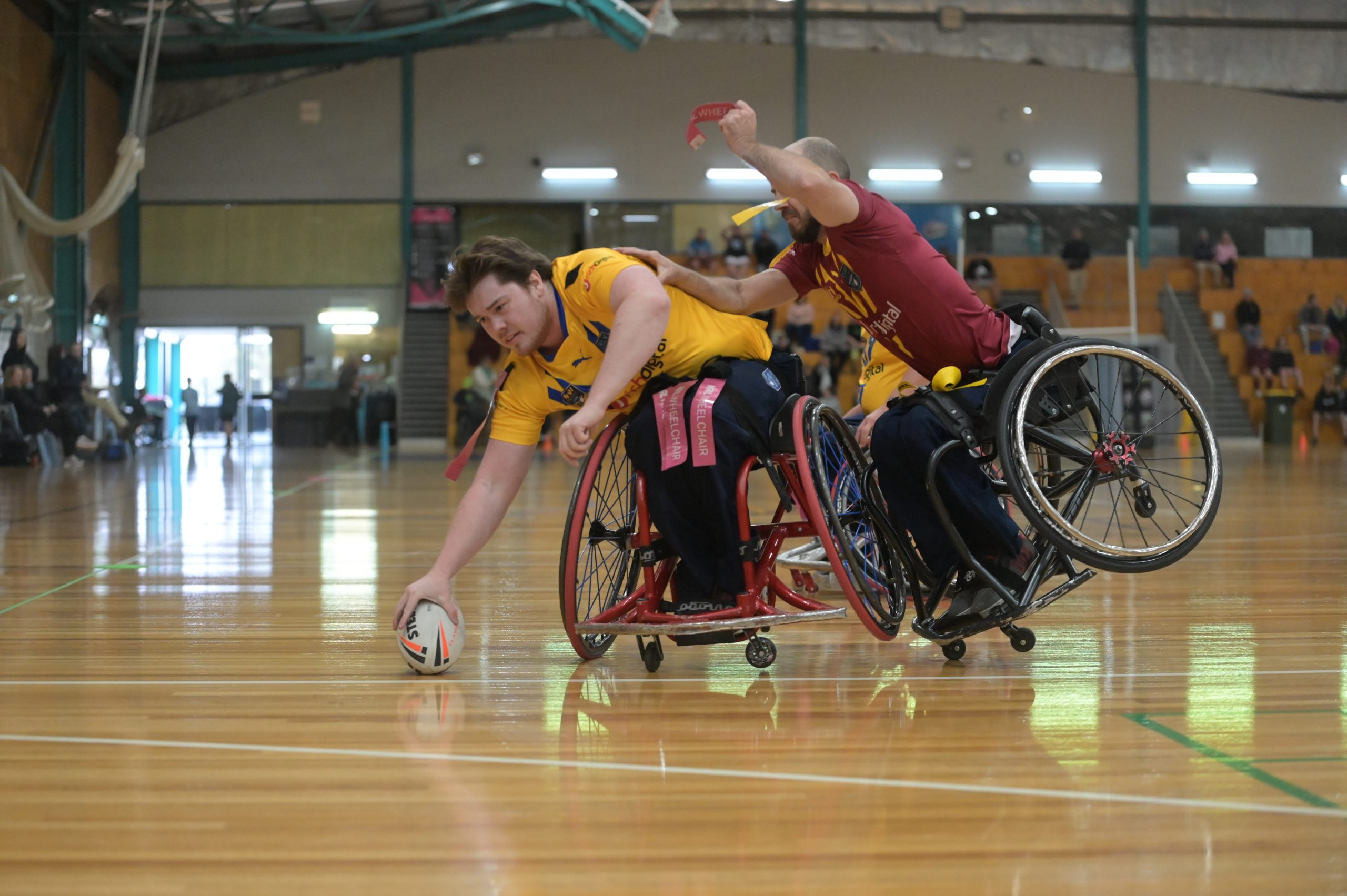 NSW Country dominate City in Wheelchair Rugby League