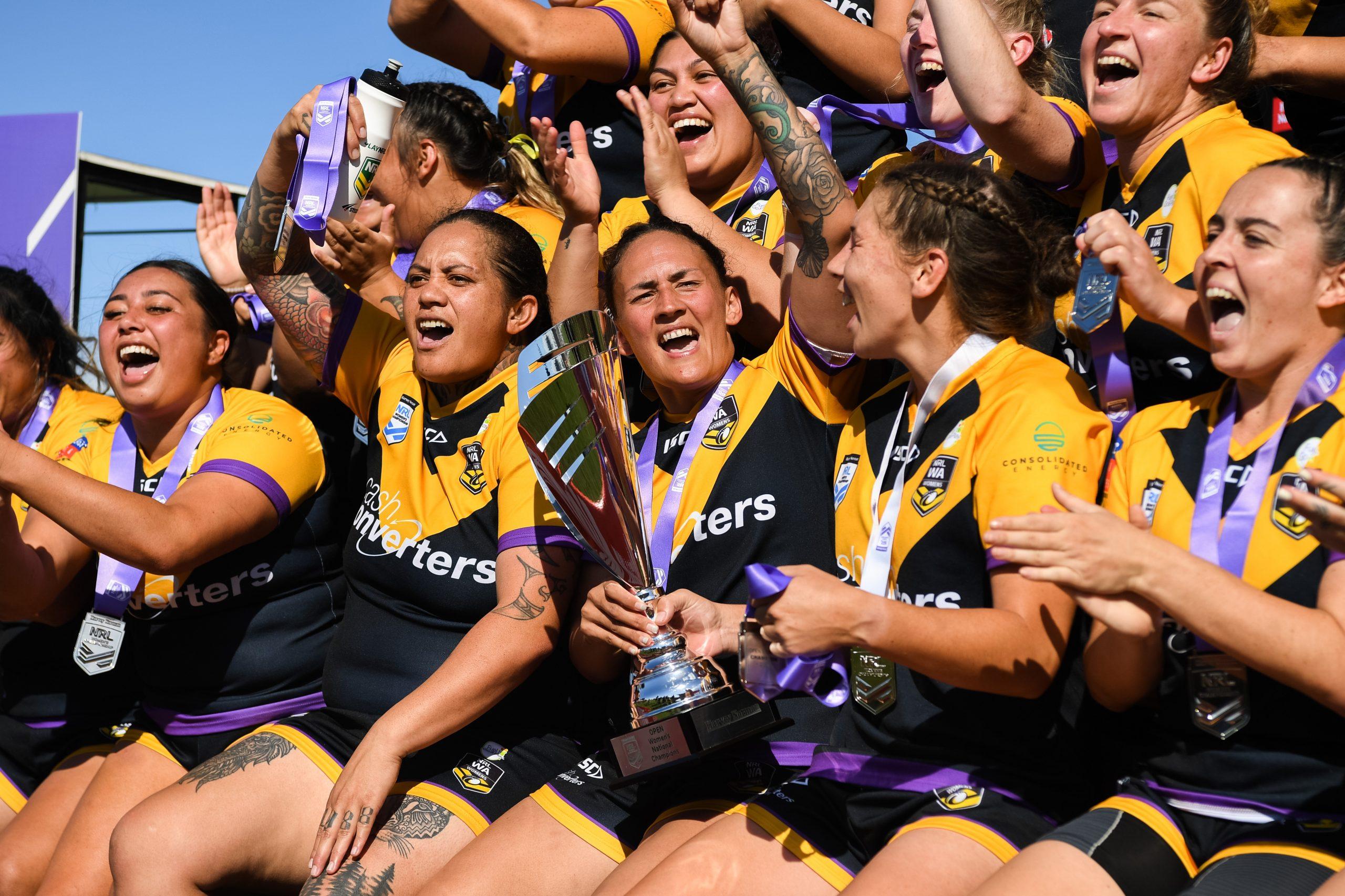 Debutantes WA claim national women's title in golden-point thriller