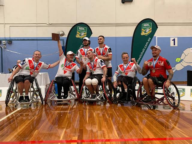 Dragons chase fourth consecutive title in NSW Wheelchair Rugby League