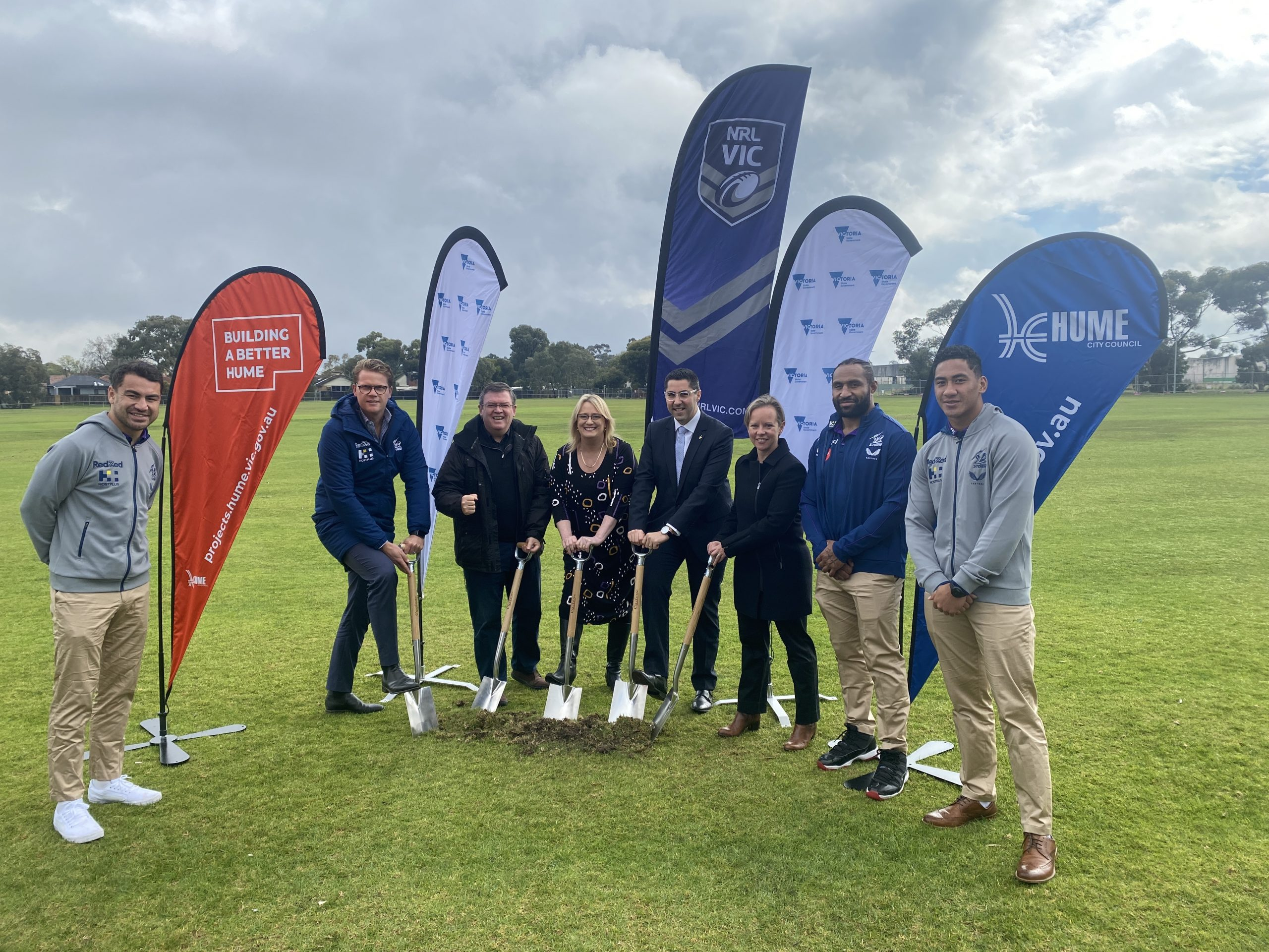 Construction starts on Victorian Rugby League State and Community Centre