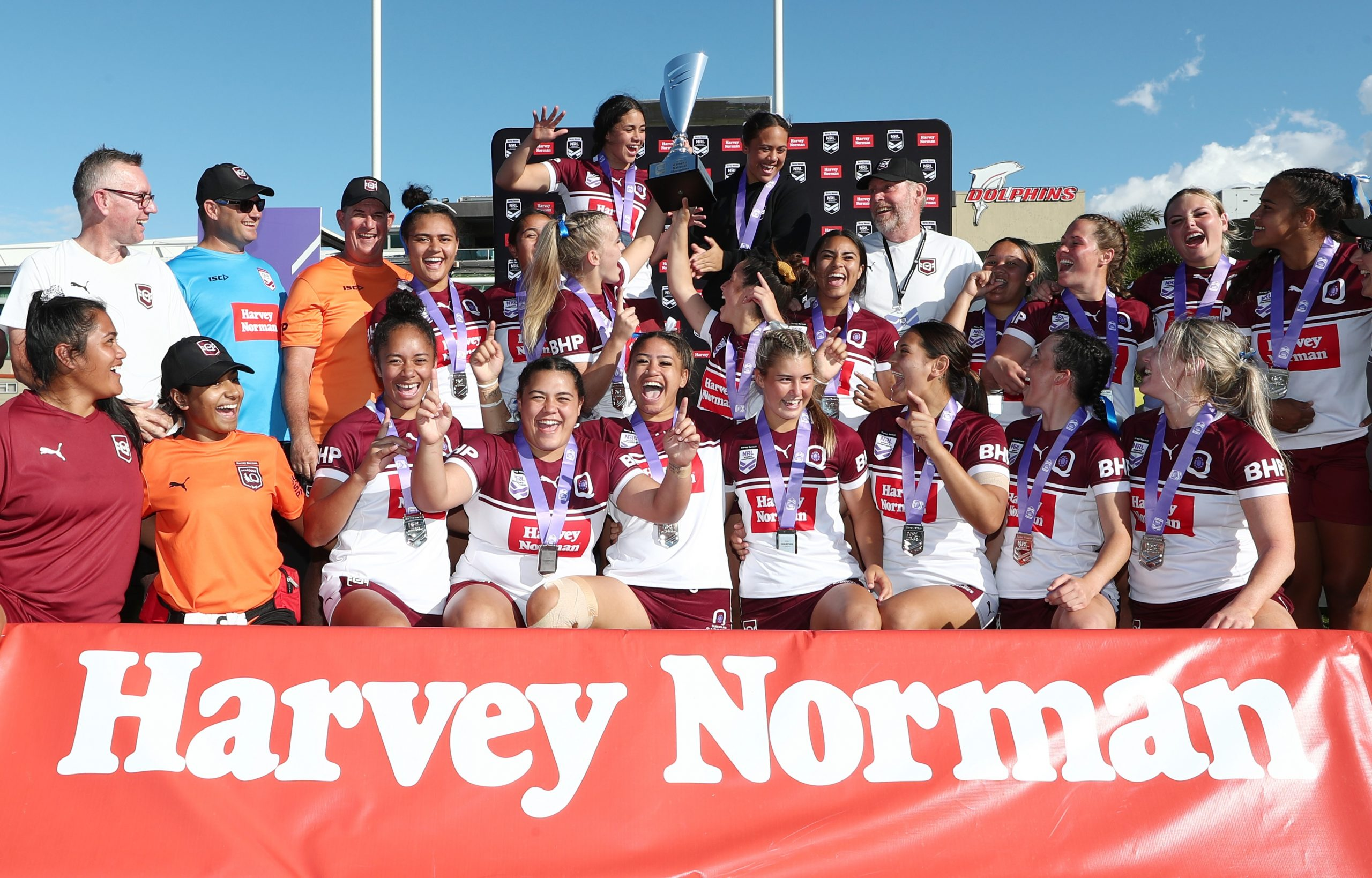 Queensland's Sapphires sparkle in under-19 national Women's title win