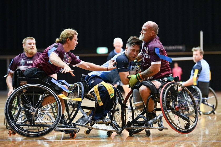 Squads named for Wheelchair State of Origin series