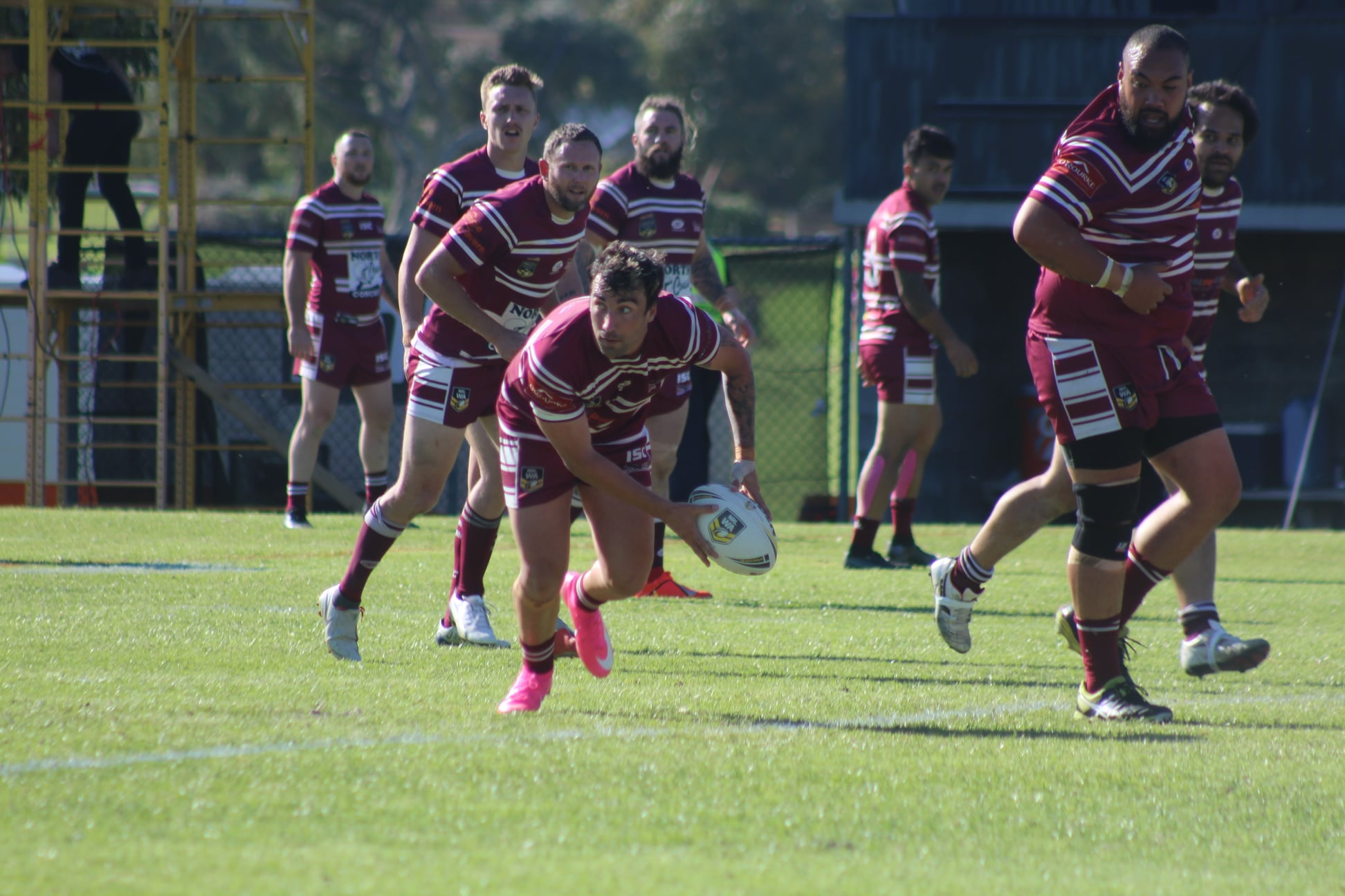 North Beach record back to back wins to move to top spot in NRL WA Men's Premiership