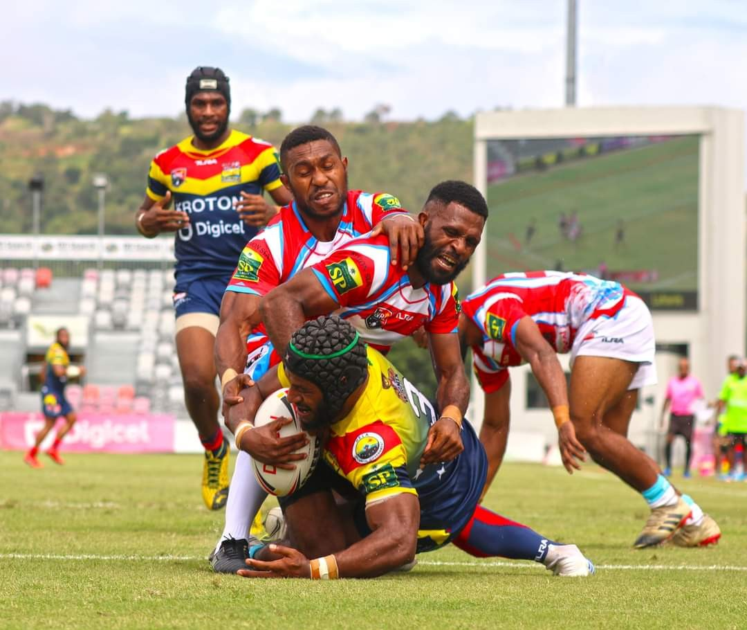 Hela start Digicel Cup title defence with large win over Goroka