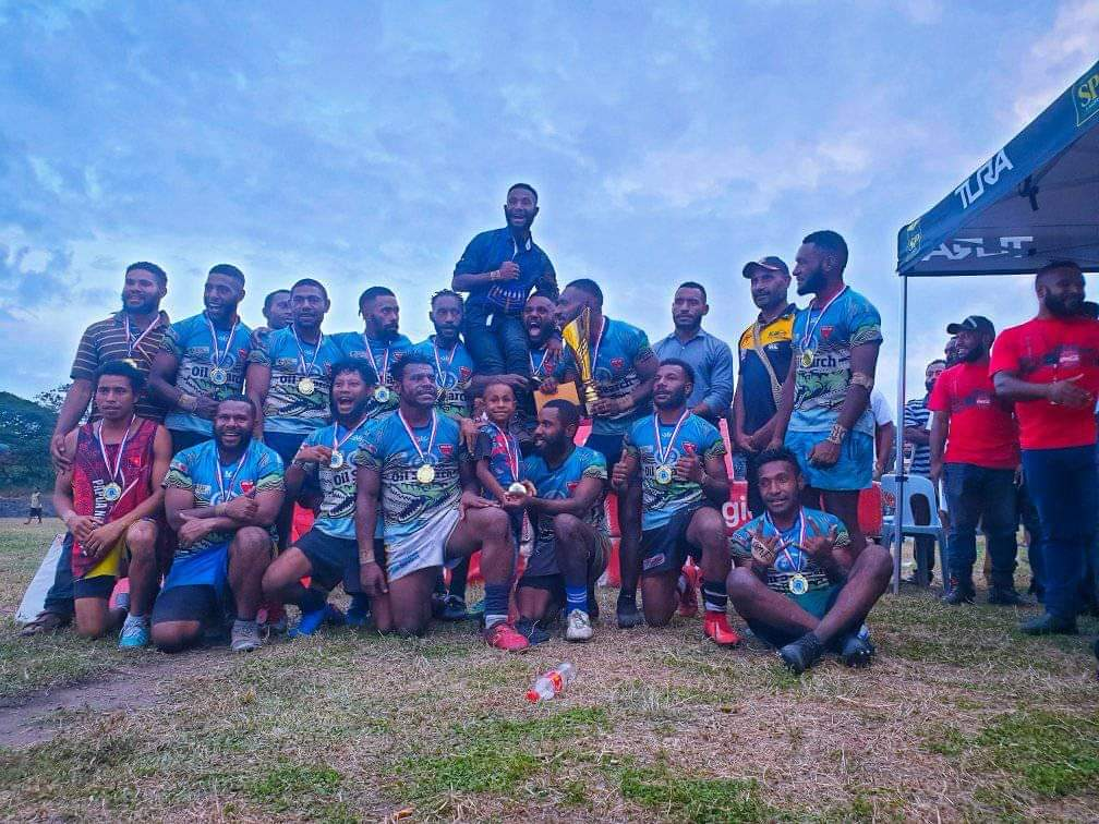 Open Campus United win the 2021 University of PNG Nines