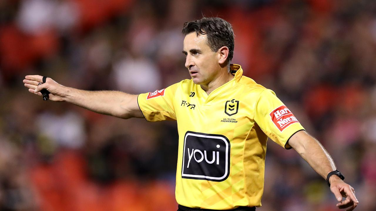 Match Officials for Game I of Ampol State of Origin