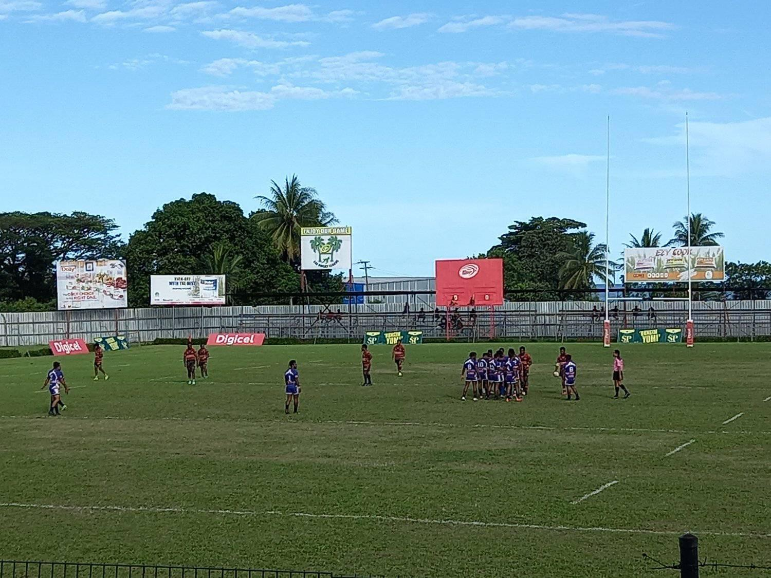 Morobe Tigers suffer first loss in Lae Rugby League Men's Premiership