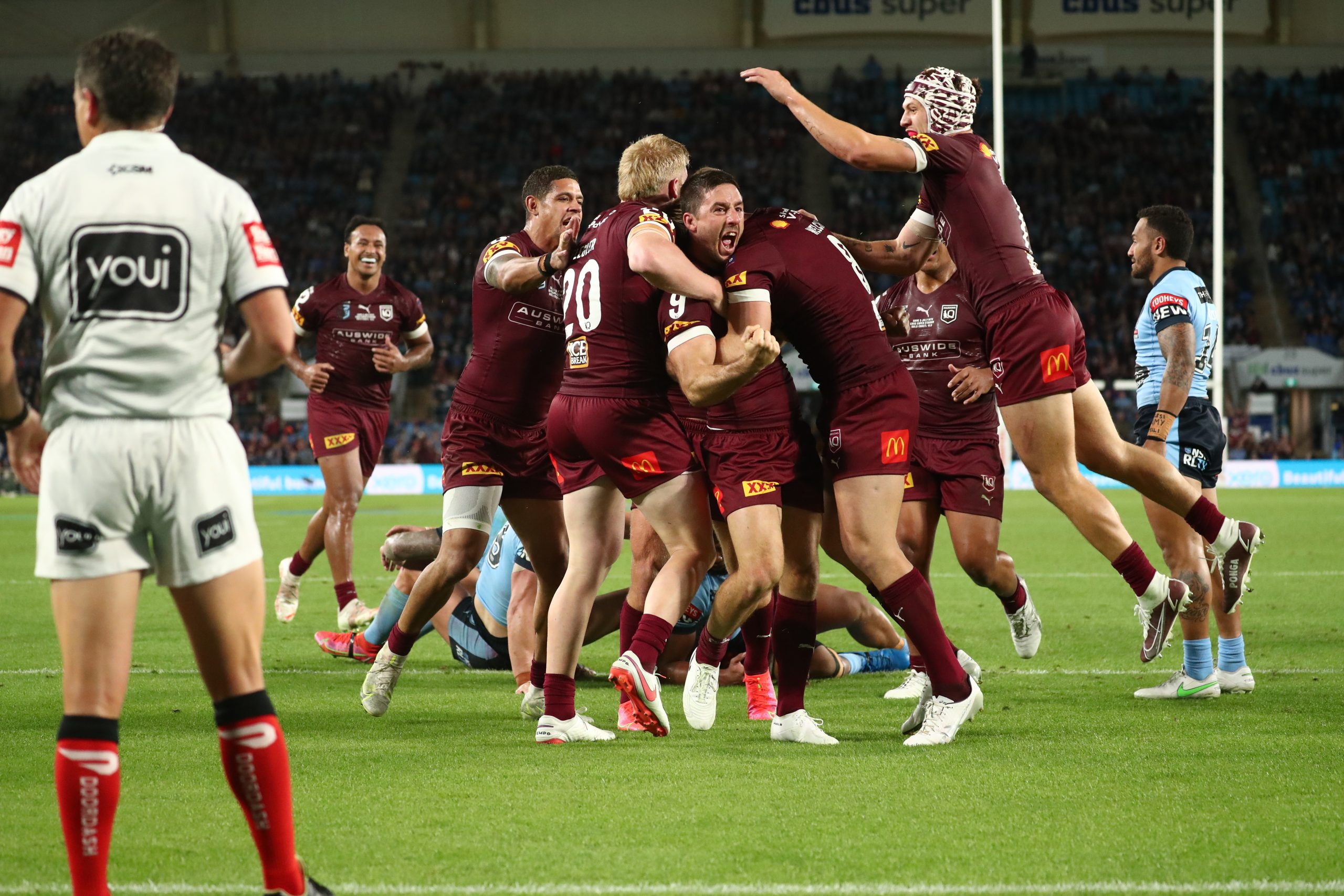 Maroons prevent Blues whitewash with win on Gold Coast