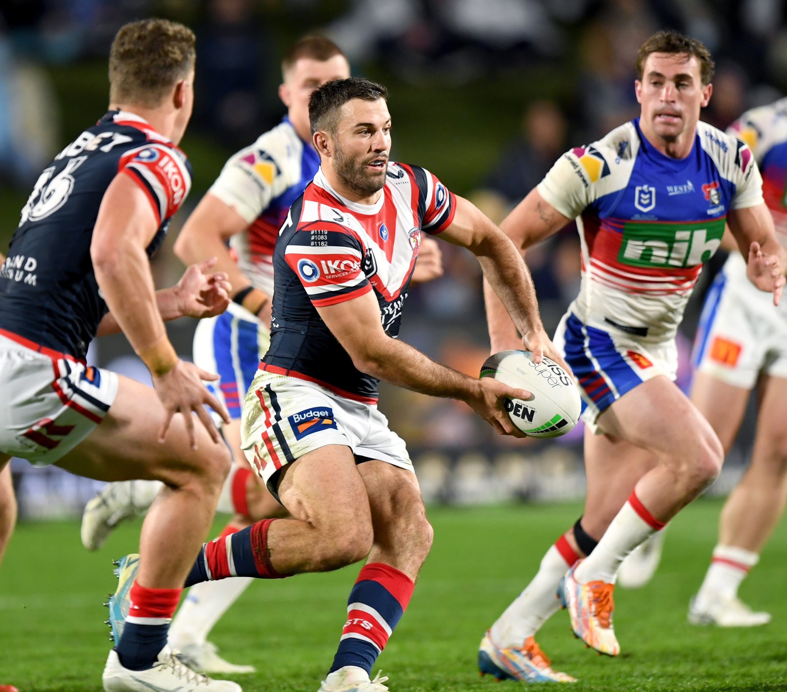 Tedesco stars as Roosters defeat Knights on the Sunshine Coast