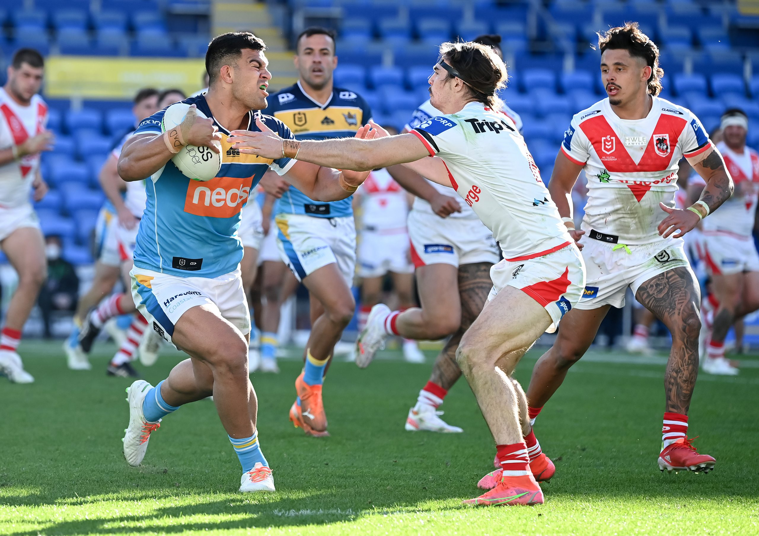 Fifita stars for Titans to help keep Finals hope alive