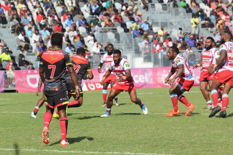 Faultless first half helps Port Moresby Vipers to victory over Lahanis