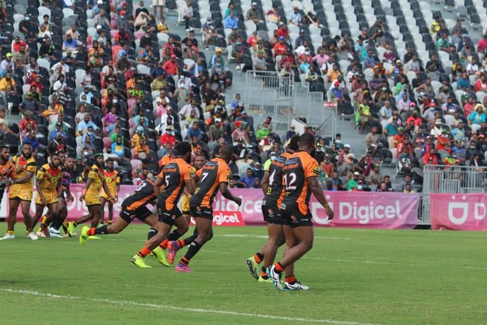 Port Moresby Vipers end Lae Tigers undefeated start to Digicel Cup season