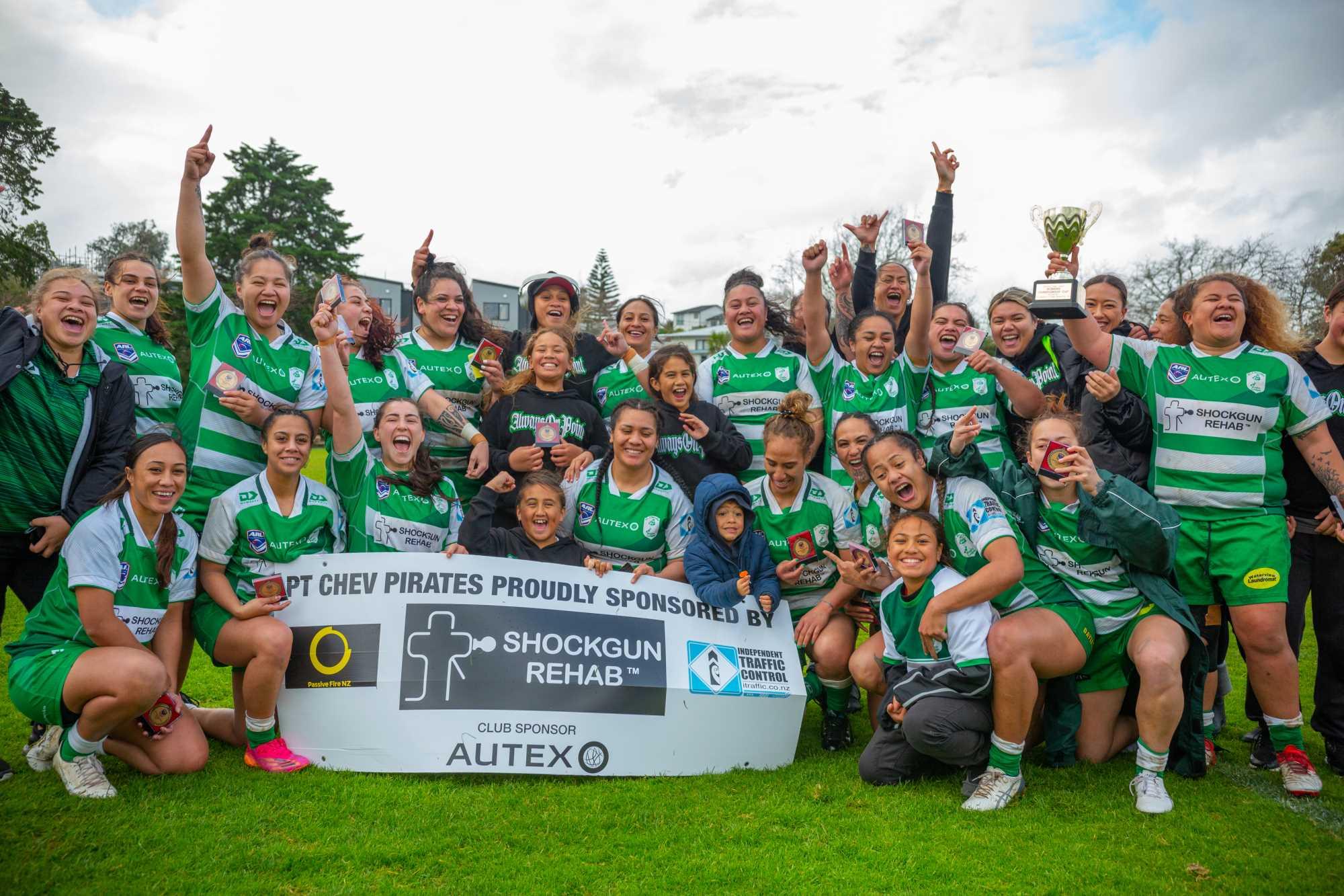 Pt Chevalier Pirates claim maiden Auckland Women's Premiership title